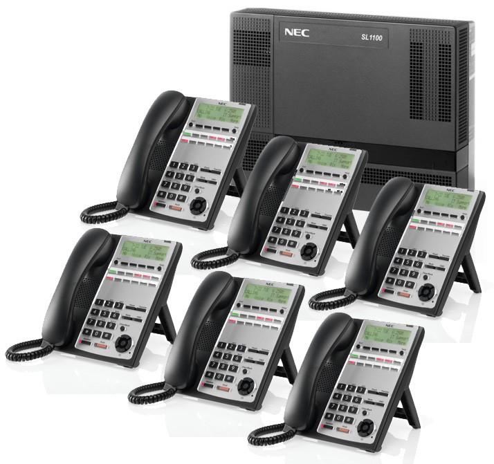 NEC SL1100 Phone System Kit by Teltek